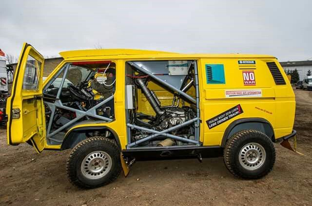 Vw T3 Syncro Rally Bus 5