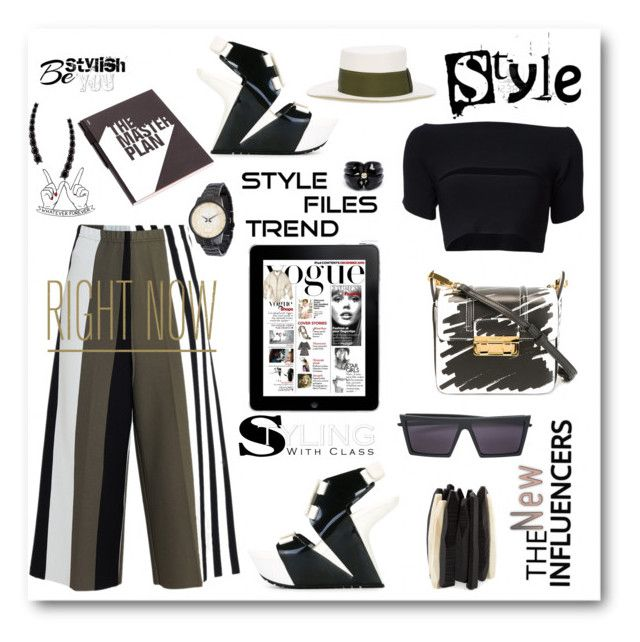 Style files trends-Culottes by zabead on Polyvore featuring polyvore fashion style T By Alexander Wang Circus Hotel UN United Nude Lanvin Monies Kenzo Kristin Hanson Alinka Sensi Studio RetroSuperFuture Nuuna clothing TrickyTrend polyvorecontest culottes