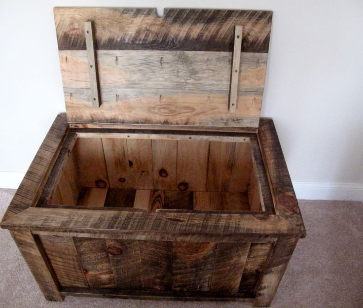 Large rustic coffee table/trunk Quality, handcrafted furniture with  creative character and rustic charm