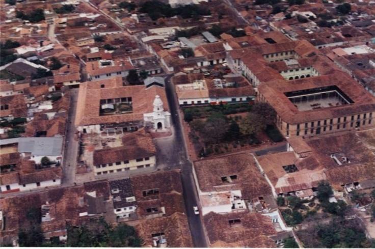 Foto Aérea del centro Histórico de Ocaña en 1997 (?)