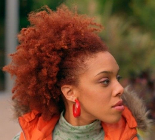 Tips For Coloring African American HairHair Colors Burnt Orange Natural Hai