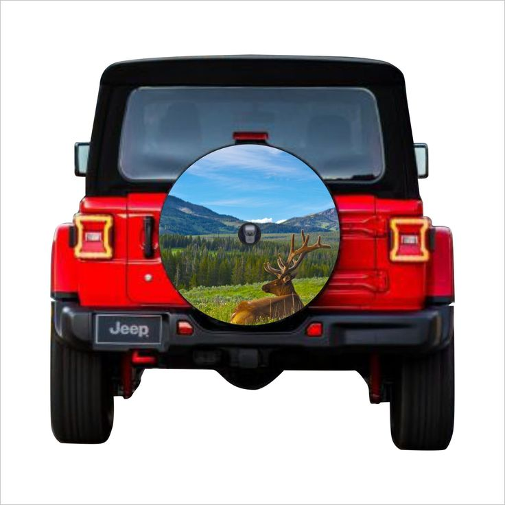 Universal Tire Cover Wheel Cover For Jeep Wrangler For Models Jl