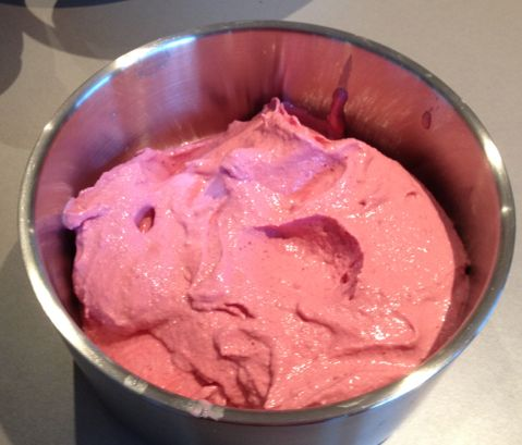 Quick Raspberry Yoghurt Ice Cream – In The Thermomix swap sugar for stevia