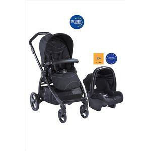 Kraft Book Plus Travel Sistem Bebek Arabası Siyah MS18HF Kraft Book Plus Travel Sistem Bebek Arabası İle Bebeklerinizle Seyahat Artık Daha Kolay