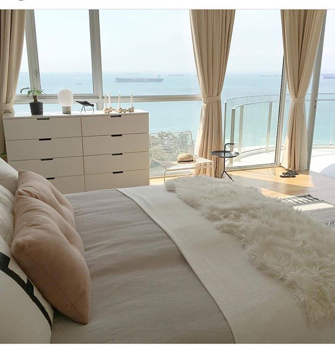 Just BEAUTIFUL. Dual toned bedroom decor. Use of Beige and White makes it look simply elegant. Easy to create and manage. Do try it. Picture via @photosbyir #decor #bedroom #decorations #bedroomdecor #bedroomgoals #bedroomdesign #cabinets #beige #white #duvet #pillowcover #rug #bedliner #bedrunner #tagsforlikes #tflers #followforfollow #furniture #stylegram #inspiration #sydney #melbourne #manly #india #shoponline #buyonline #decor8or_online http://ift.tt/2nKY1nP