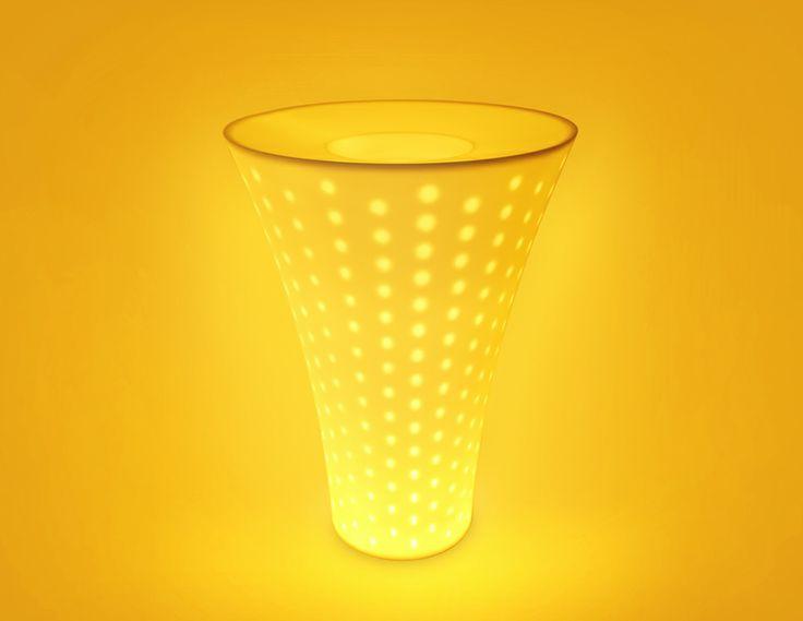 ELINN LIGHT_Color Lighting Pot_designed by MOTO