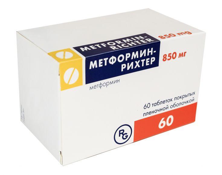 Метформин рихтер для похудения инструкция по применению