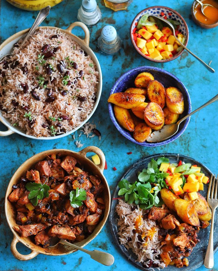 Caribbean Feast Healthy Meals In 2019 Vegan Recipes