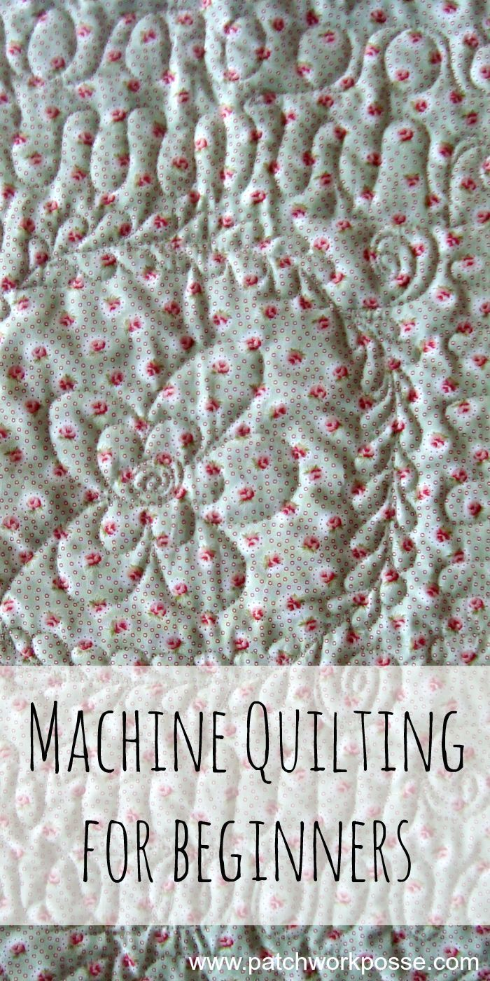 Machine quilting can be done using your standard sewing machine! You'll learn tricks to getting your designs, quilt sandwich and quilting done just right.