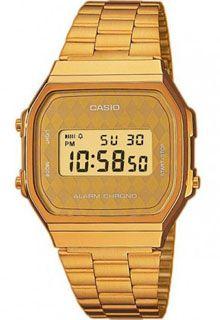 Часы Casio Illuminator A-168WG-9B / A-168WG-9BWEF