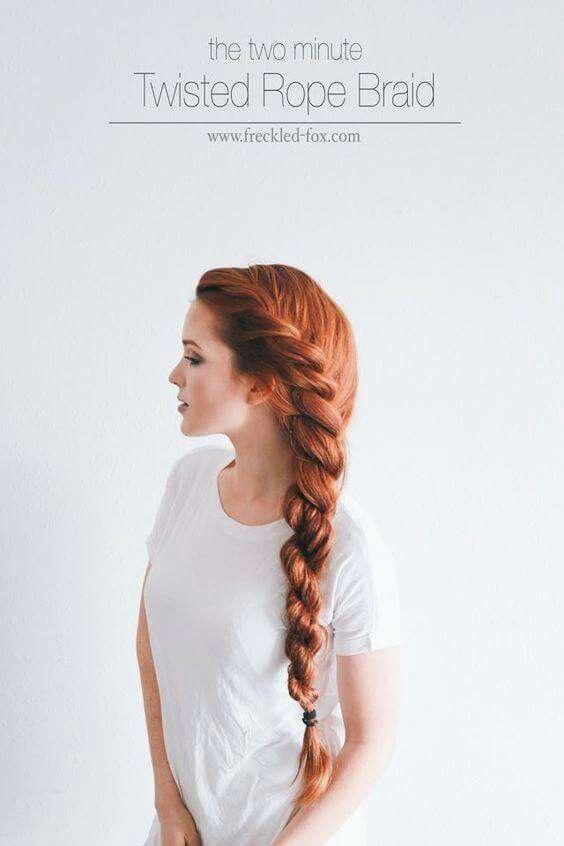 Mejores 113 imágenes de trenzas en Pinterest | Corte de cabello ...