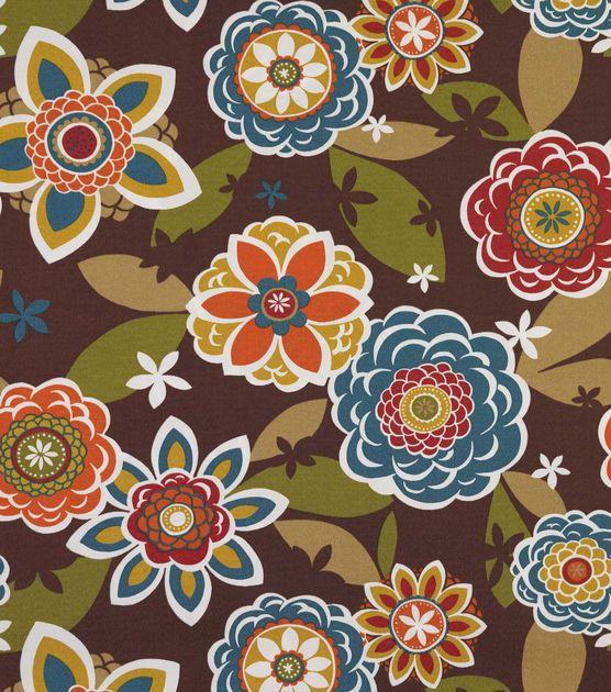 Outdoor Fabric-Solarium Annie Chocolate