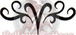 Aries Zodiac Symbol Tattoo Design at BullseyeTattoos.com