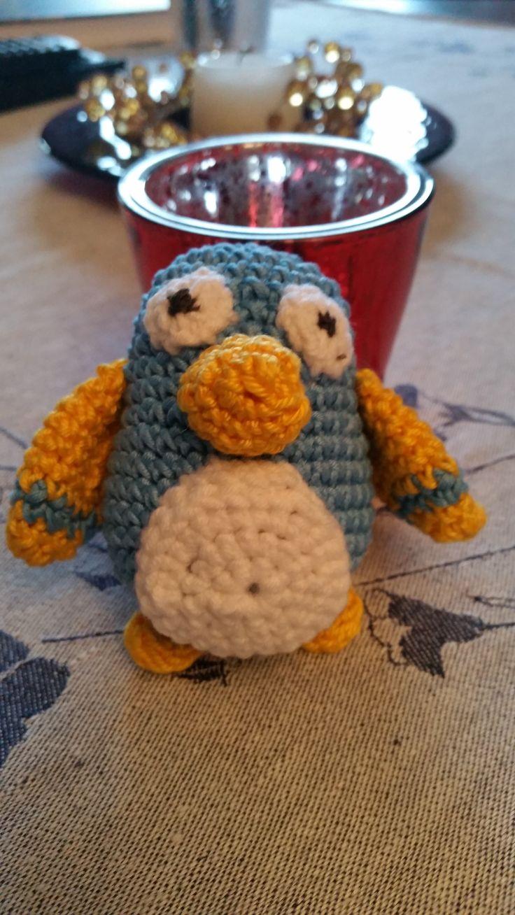 pingvin i restgarn, till baby