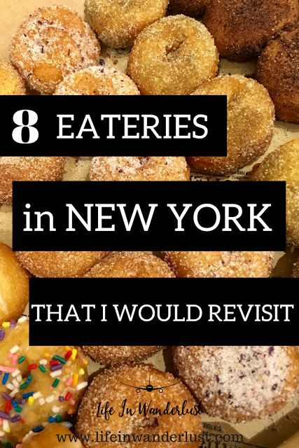 8 Best Restaurants in New York City perfect for the Foodie!