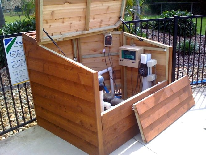 21 Best Images About Pool Equipment Enclosure Ideas On