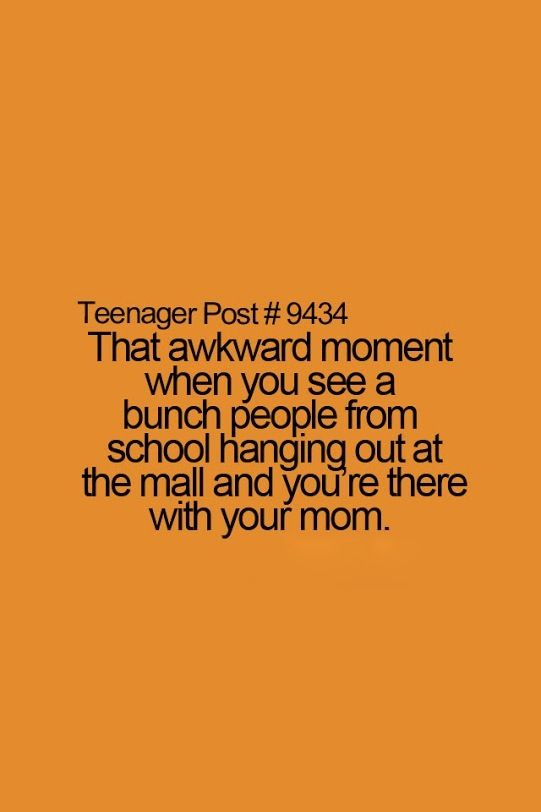 That happens a lot!! I'm just like I don't know this Lady. And walks a bit in front of her.