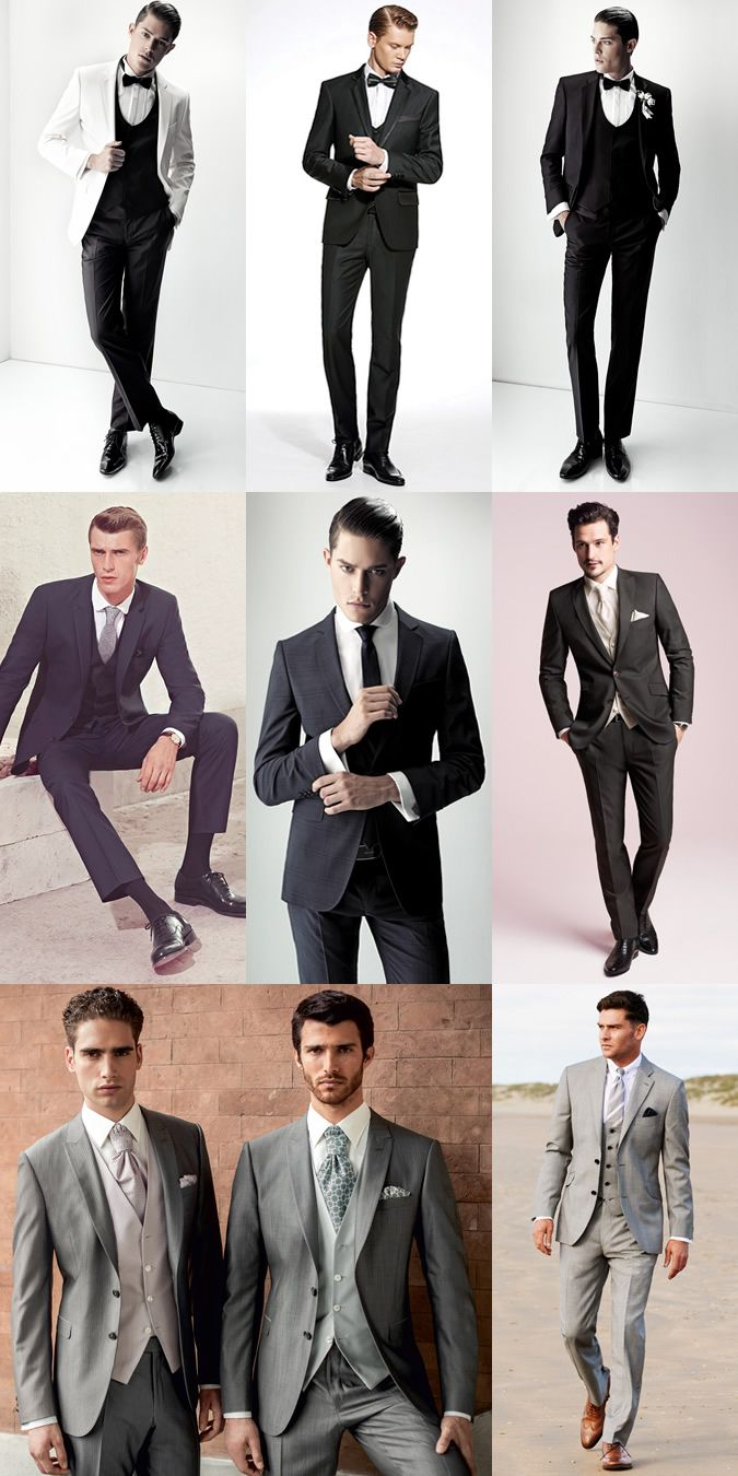 My man will be super sexy no matter which one he decides to wear on our wedding day. :)