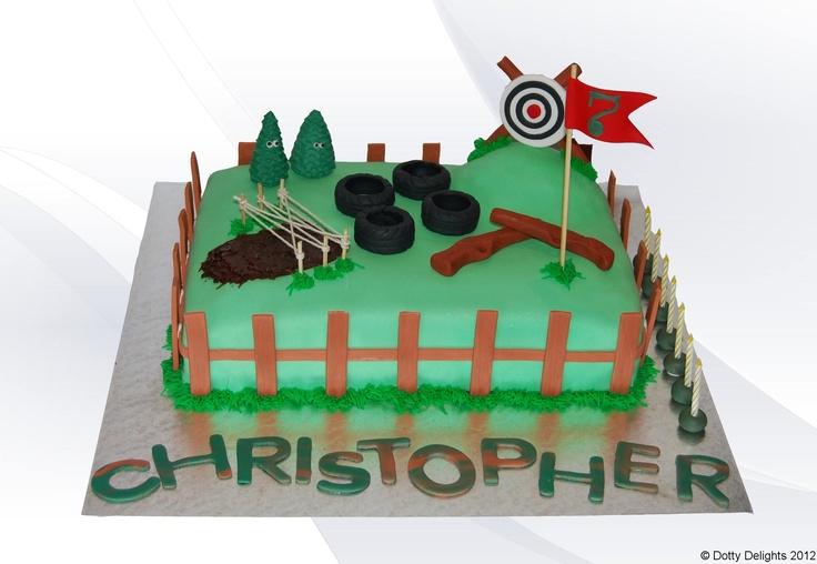 Spartan Race Party: Cake: Inspiration   birthday ideas