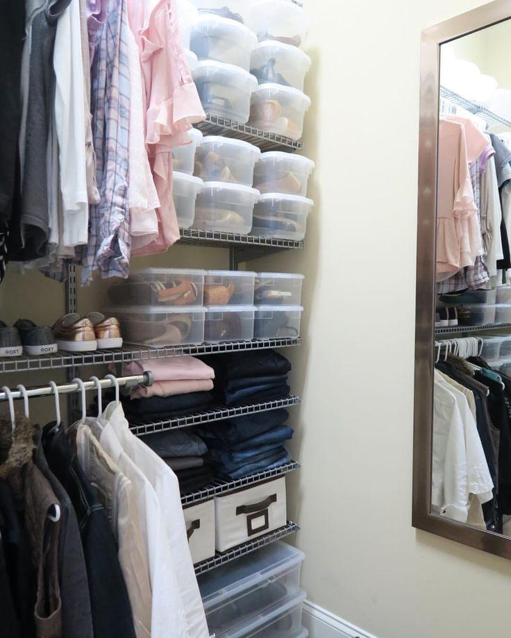 thought i would share my recent closet update for spring added some blush pink shoes