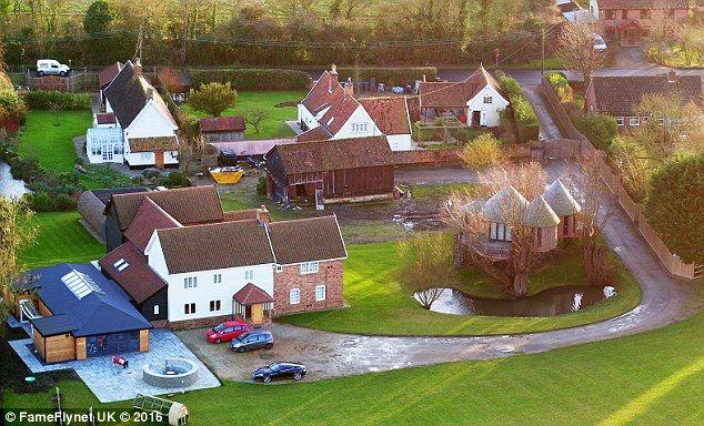 Police Visit Ed Sheeran Amid Concerns His Estate Works Disturb