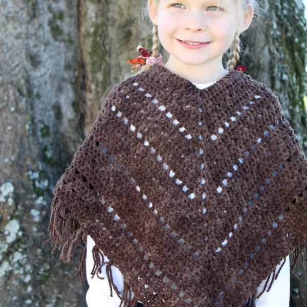 46 Best Poncho Crochet Patterns Images On Pinterest Ponchos
