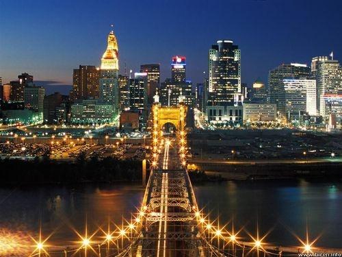 Cincinnati :) home.: Sweets Home, Cincinnati Skyline, Favorite Places, Queens, The Cities, The Bridges, Travel, Cincinnati Ohio, Kentucky
