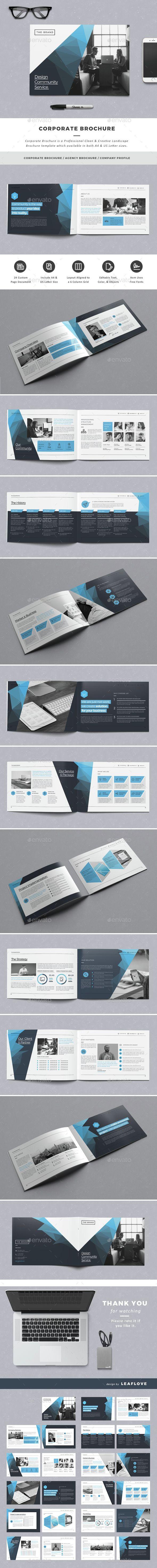 Corporate Brochure Template InDesign INDD. Download here: http://graphicriver.net/item/corporate-brochure/14957706?ref=ksioks