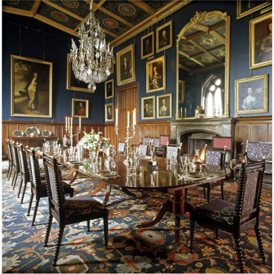 Castle Dining Room: 270 Best Images About Restored Interiors On Pinterest
