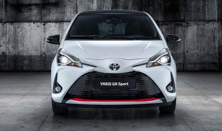 2020 Toyota Yaris Gr Sport New Exterior Look With Front View Toyota Yaris Sports Models