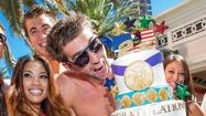 Michael Phelps' Las Vegas retirement party [Pictures]