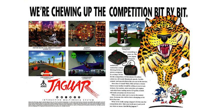 Atari Jaguar 64-Bit Interactive Multimedia System   Atari I/O