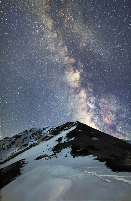 Mt. Jonen, Nagano, Japan