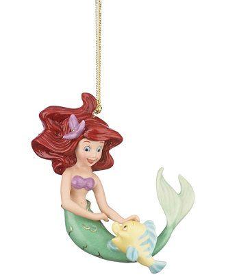 Lenox Ariel's Best Friend Ornament - Holiday Lane - Macy's