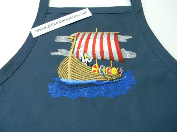 edf3f11fd40 Embroidered Danish Viking Ship