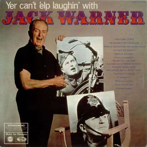 Jack Warner Yer Can't 'Elp Laughin' With Jack Warner 1968 UK vinyl LP MFP1278: JACK WARNER Yer Cant Elp Laughin With Jack Warner (1968 UK…