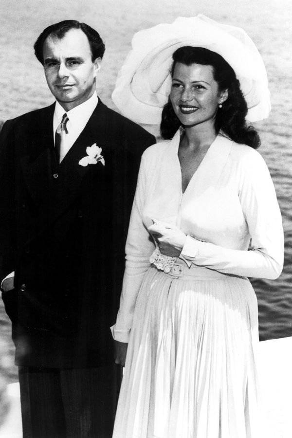 Vestido de segundas nupcias escogido por Rita Hayworth para contraer matrimonio con el príncipe Ali Khan