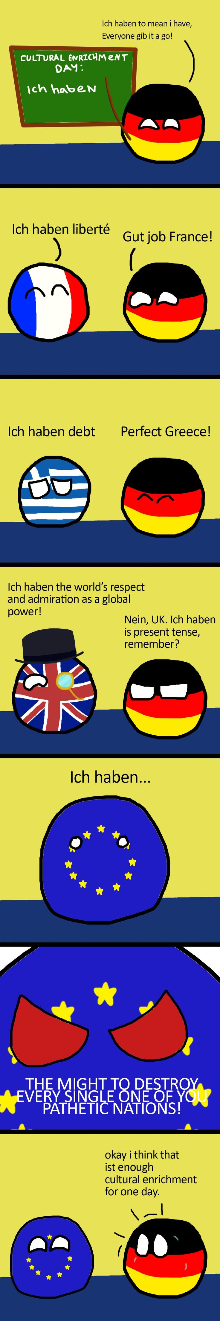 German English class - Polandball