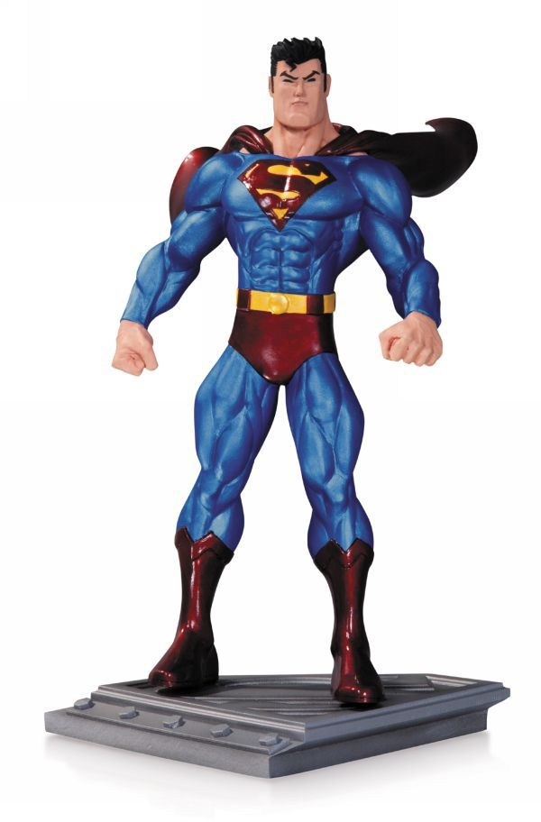 Transformer Ko Superman The Man Of Steel By Ed Mcguinness Statue By Dc Collectibles Man Of Steel Superman Superman Man Of Steel