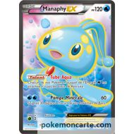 Manaphy ex 120 pv 116/122 FULL ART - Xy - Rupture turbo - Carte pokémon en français