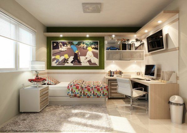modern teen desk ideas L shaped cornet desk teen bedroom design modern furniture