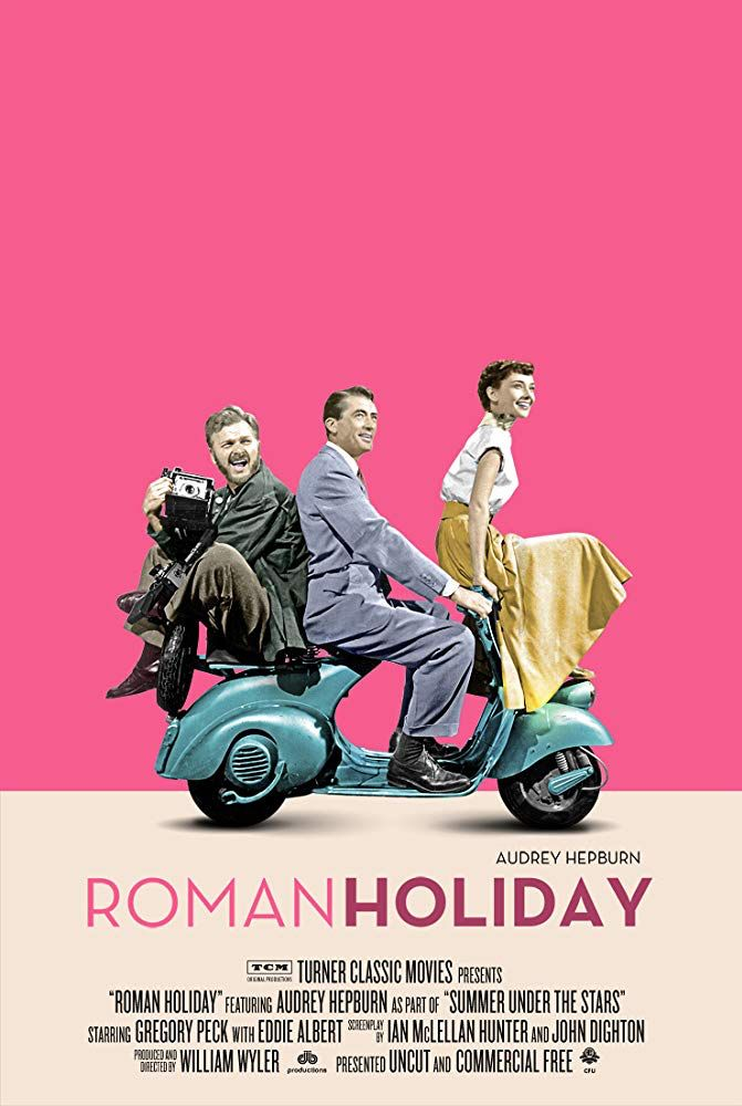A3//A4 Size ROMAN HOLIDAY MOVIE CLASSICAL VINTAGE  ART PRINT POSTER  # 10