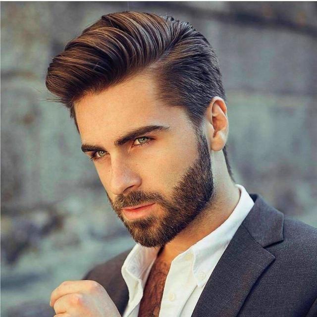 Men S Hair Styles 1454 In 2020 Thick Hair Styles Mens Hairstyles With Beard Long Hair Styles Men
