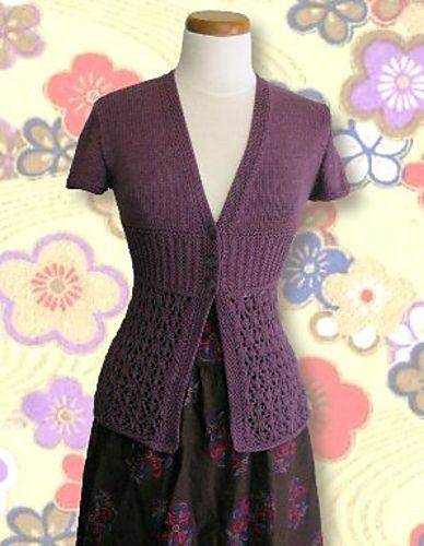 3. Favorite Summer Knitting Pattern - Ravelry: Fleurette Jacket pattern by Ram Wools Yarn Co-op
