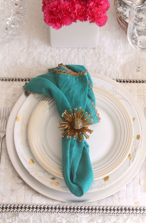 17 best Turquoise & Gold images on Pinterest   Tray tables ...