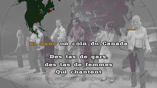 "MICHEL FUGAIN ""Les Acadiens"" [Version KARAOKÉ]"