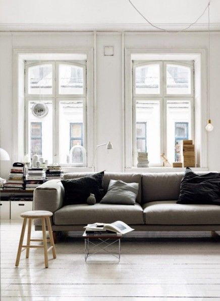 279 best images about home decoration on pinterest tes interieur and living rooms - Bank beige ikea ...