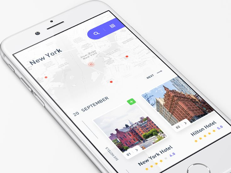 Hotel reservation app 22/90 by Eduard - Dribbble