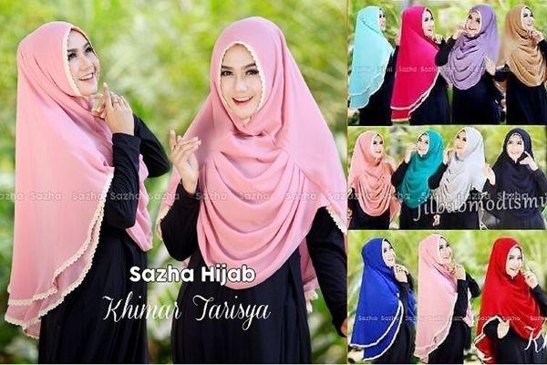 Kerudung Jilbab Instan Tarisya Terbaru 2016 http://bundaku.net/pakaian-wanita/jilbab/jilbab-instan-tarisyat