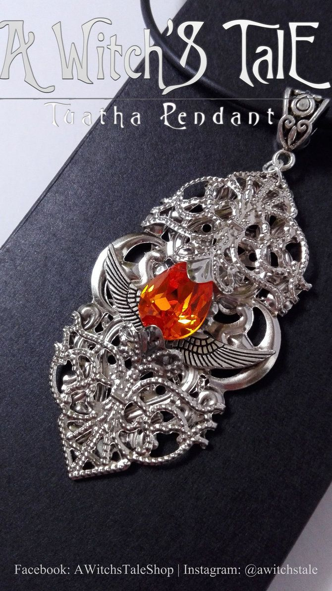 Tuatha Pendant by A Witch's Tale by LaceWingedSaby.deviantart.com on @DeviantArt